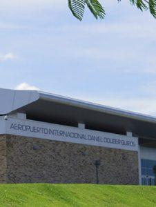 Parking and access guanacaste aeropuerto
