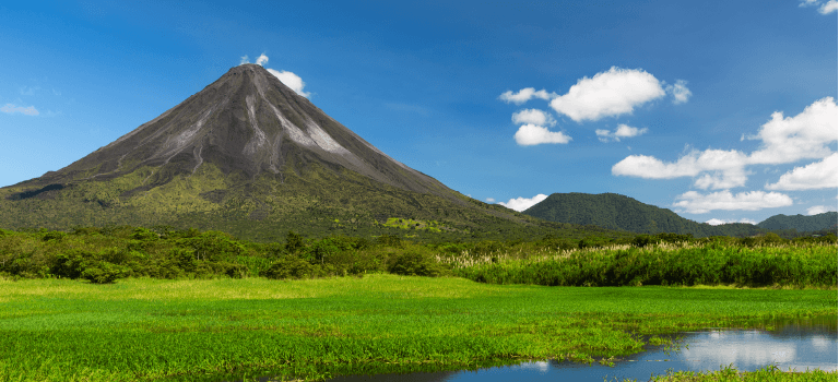 Costa Rica Volcanoes- Guanacaste Airport